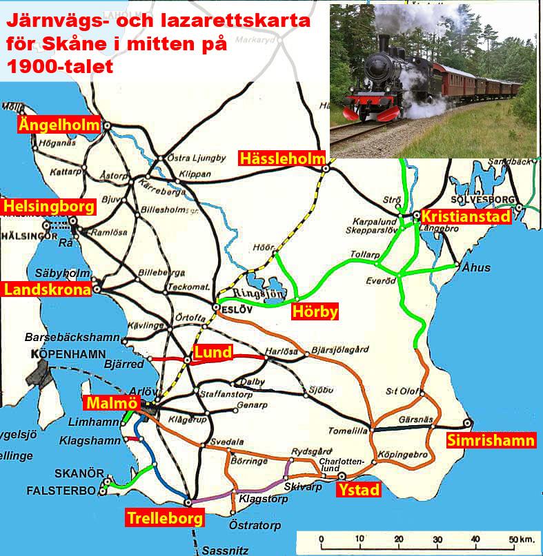 Bjarred Karta Skane.Sydsvenska Medicinhistoriska Sallskapet Radiologi I Lund